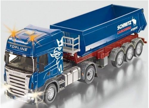 REMOTE CONTROLLED SCANIA R620 TRUCK WITH TIPPING TRAILER